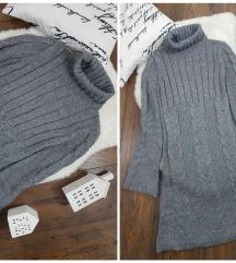 Paccio * M * 50% vuna haljina NOVO
