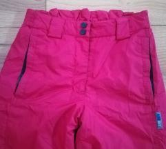 FIREFLY ski crvene pantalone 152