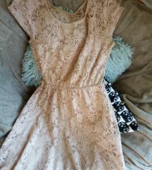 Haljina krem boje