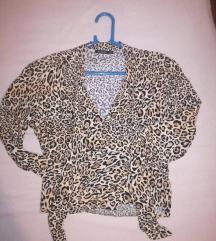 Stradivarius bluza leopard printa