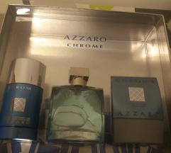 AZZARO CHROME set NOVO