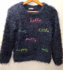 LC WAIKIKI čupavi džemper, svetlucavi