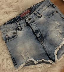 Sorts jeans
