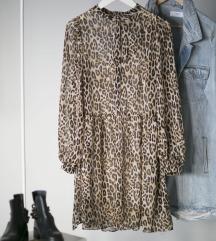 Rezz HM oversized leopard haljina, vel. S