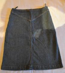 Suknja H&M teksas, vel 36