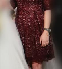 Bordo haljina 36