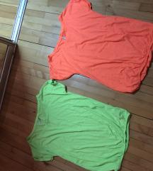 Pamucne neon majice/ obe za samo 1000