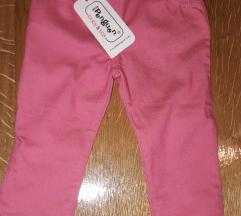 Roze pantalonice 24-36m