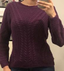SNIZENO%Pleteni džemper
