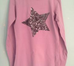 Roze majica sa zvezdom
