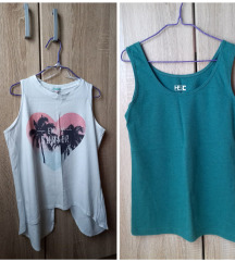 2 majice bela NOVA