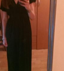 Crna duga haljina Marks&Spencer
