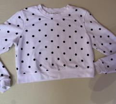 Crop top majica/duks