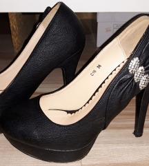 Cipele zlatne broj 36