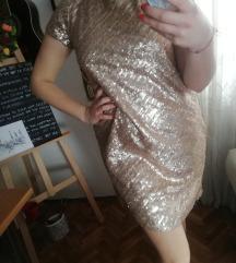 Sinequanone šampanj haljina