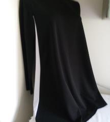 Calliope crna haljina bela strafta S