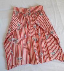 Suknja sa rodama - dizajnerska