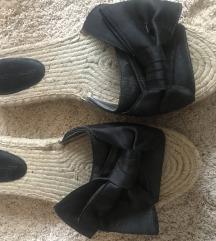 Papuce saten  Rebecca Minkoff