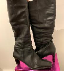 Duboke cizme(prava koža)