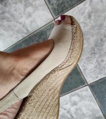Velur kožne sandale NOVO