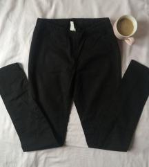 Pieces crne skinny farmerke - jeggings M/L