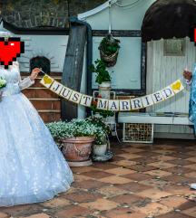 Luksuzna vencanica i odelo za svadbu