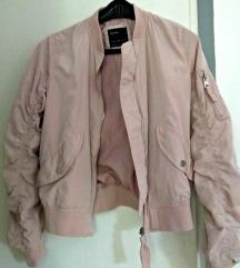 Bershka roza bomber jakna