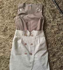 Moderna vintage zenska haljina