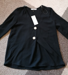 Crna bluza 3/4 rukava