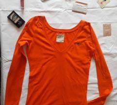 Hollister oranž majica