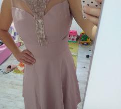 Bebi roze haljina M
