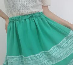 Sivena suknja S/M