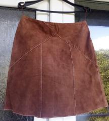 Conbipel, original, italijanska kozna suknja