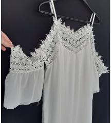 Bela haljina,L veličina%%%RASPRODAJA%%%