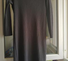 Siva midi haljina iz Italije