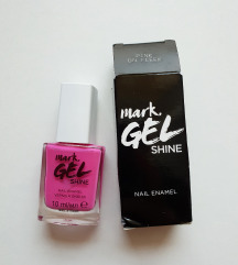Mark Gel Shine lak Pink on Fleek *NOVO*