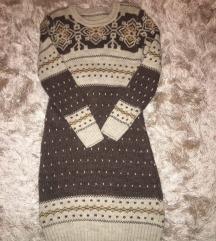 Dzemper haljina butik Jasmina + sal i kapa