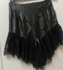Clubwear šorts ~ eko koža - 400din.