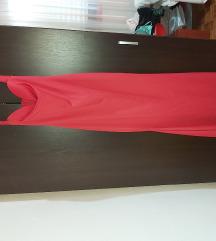 Koralna duga haljina