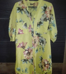 Lagana kosulja haljina za plazu  L