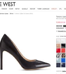 Nove crne kozne NINE WEST cipele kolekcija2020