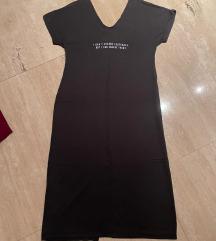 Crna haljina sa šljokicama S/M