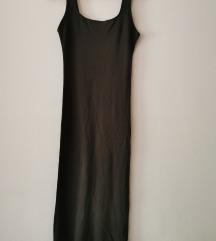 Maslinastozelena haljina
