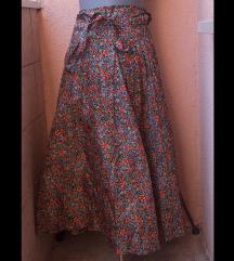 Floral suknja, rane šezdesete