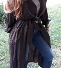 Oversize vintage mantil od svile