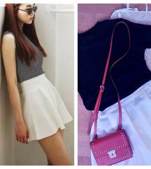 NOVA! Krem-bela suknjica