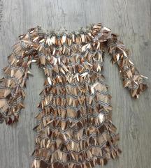 Zlatna haljina- SNIŽENA 🤗