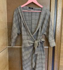bershka sako-haljina na vezivanje