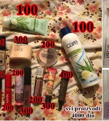 Veliki set šminke i kozmetike (Nema Šta Nema)