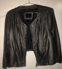 kratka kožna jaknica